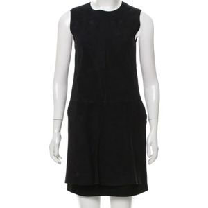 Sportmax suede and leather dress